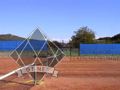 028 Teniszpálya háttérháló