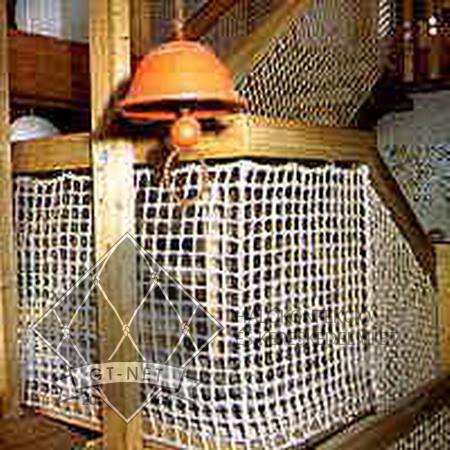 029 Lépcső-korlát védőháló