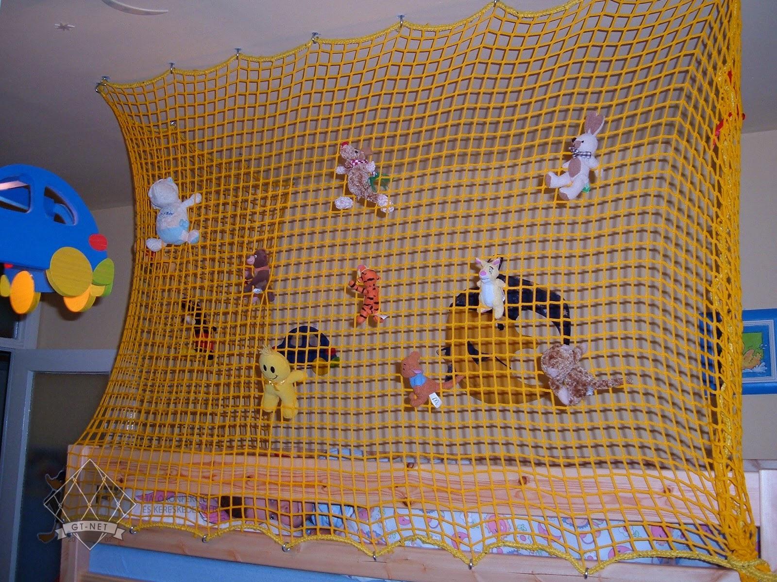057 Védőháló emeletes gyerekágy köré